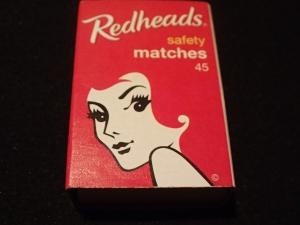 Little hustle in matchbox advertising