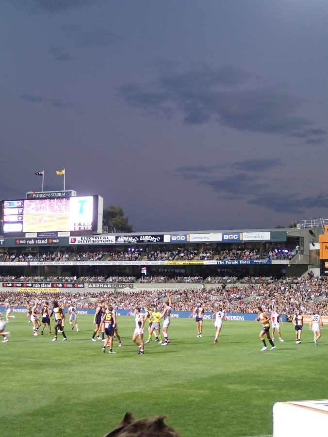 West Coast vs. St. Kilda