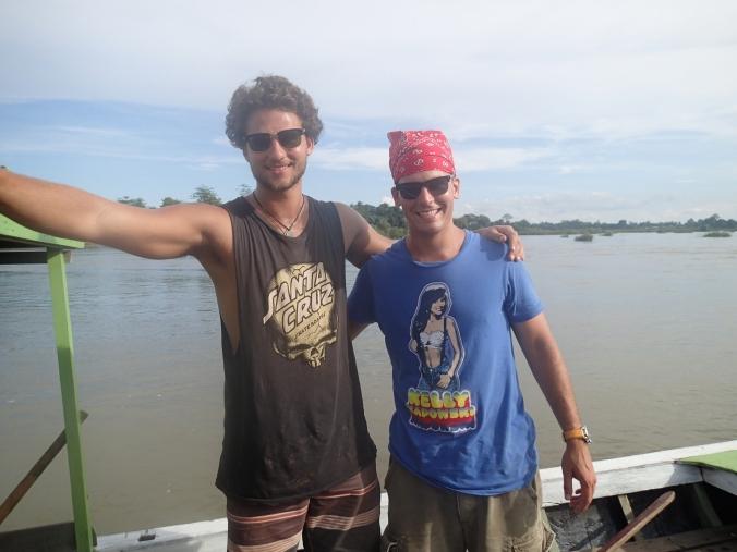 Fishing with Marius.